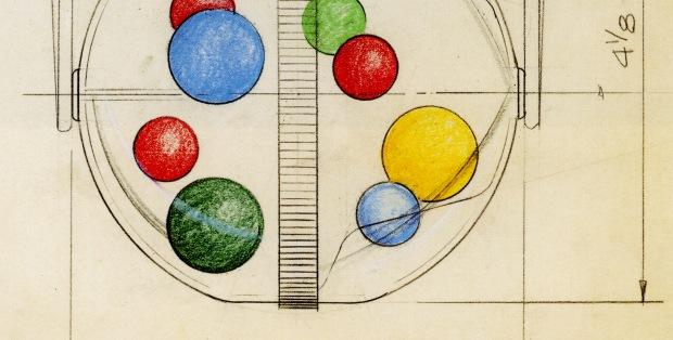 Gumball Machine Sketch, Nathan Lerner